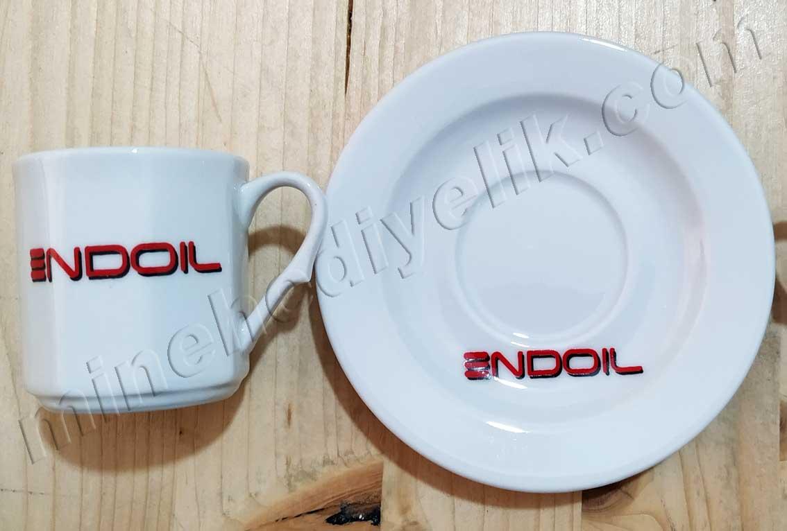 Kurumsal Hediyelik  Logolu Kahve Fincan  Takımları Toptan Fiyatları 6'Lı  Setler