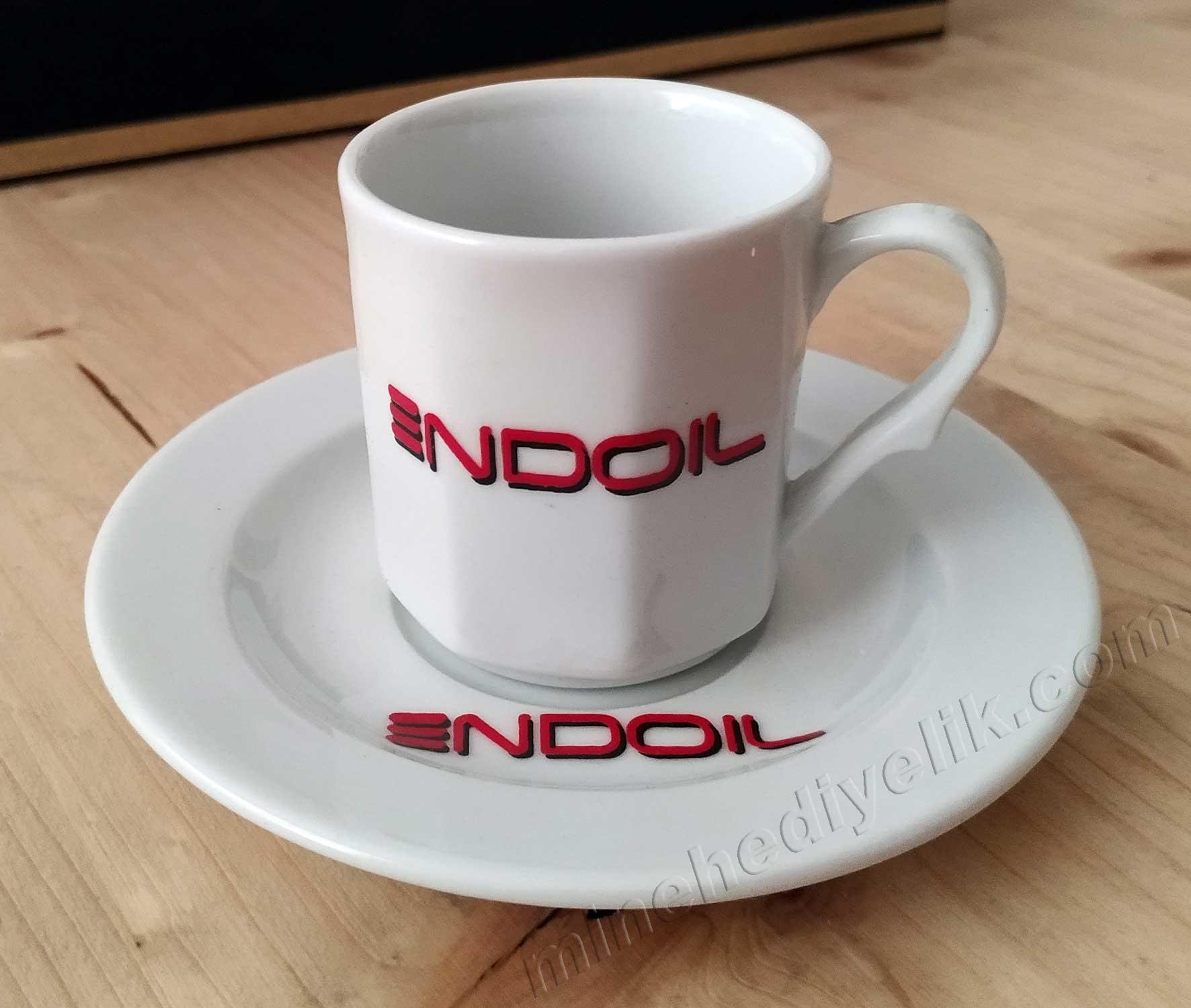 Kurumsal Hediye Amaçlı Logolu Kahve Fincan Takımları Kadife Kutulu