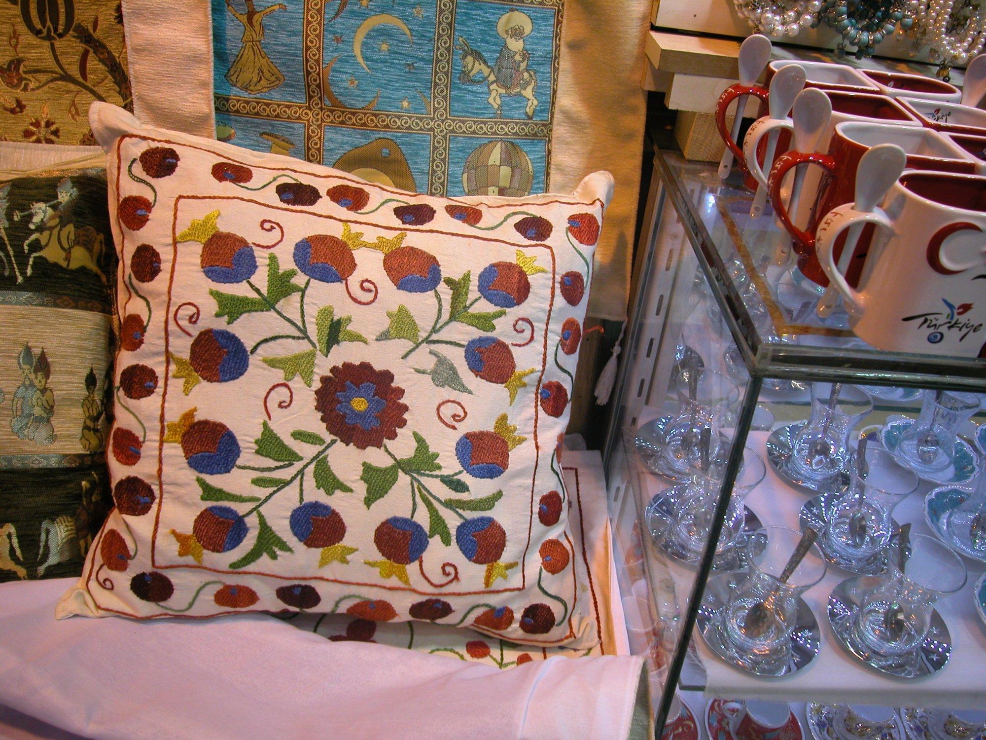 Geleneksel Osmanlı Minderleri