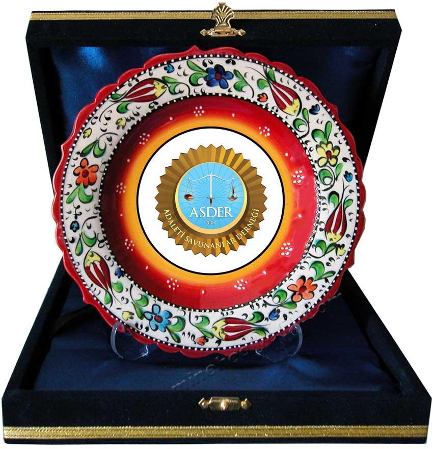 Seramik Tabak Plaket Çeşitleri kültürel hediye mağazası Mine hediyelikte