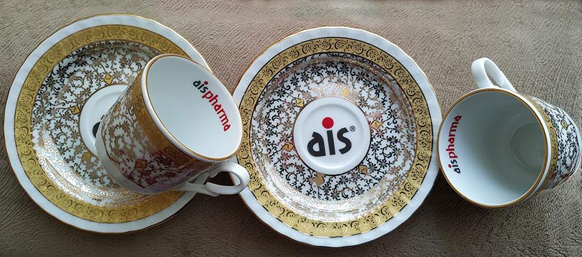 Logo Baskılı kahve fincanı seti