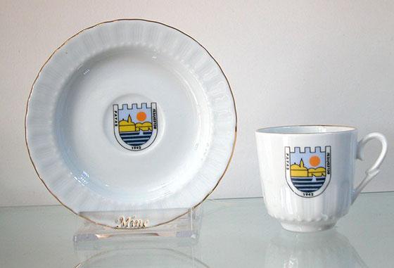 beyaz kahve fincan takımları kurumsal hediyelik baskılı fincan takımı düz sade beyaz logolu