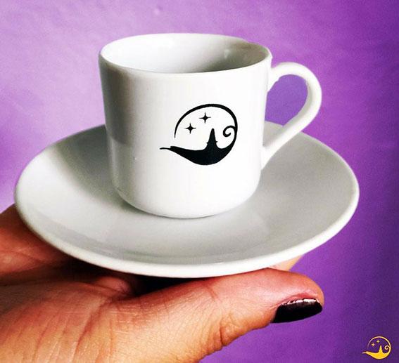 beyaz kahve fincan takımlar kurumsal hediyelik beyaz kahve fincanı logo baskılı