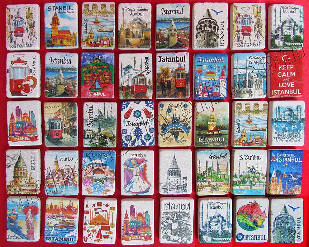 promosyon  amaçlı ucuz hızlı acil logo baskılı eşantiyon hediyelikler istanbul türkiye anısı görselli resimli magnet