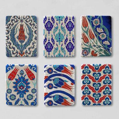 Çini desenli magnet Taş Magnet Baskı Taş Magnet İmalatı Taş Magnet Toptan Satışı Taş Buzdolabı Magneti mıknatıslı buzdolabı süslemeleri