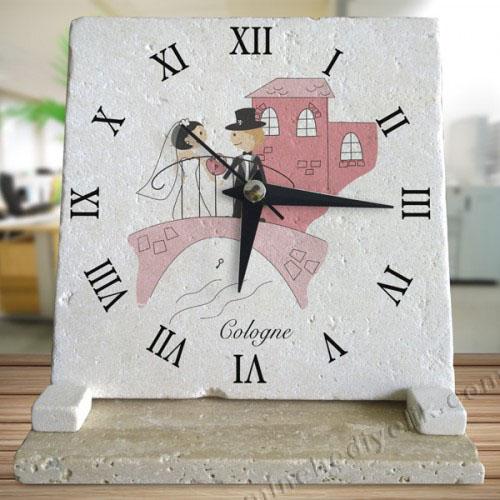 Gerçek doğal taş saatler taş masa saati çeşitleri ucuz hediyelik saatler promosyon doğal taş saat