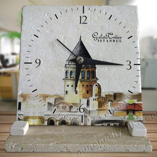 hediye taş masa saatleri plaka doğal taş çeşitleri ve modelleri masaüstü hediyelik eşyalar