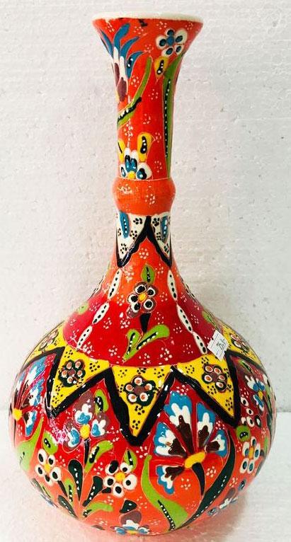 Kabartma Çini Vazo Örnekleri