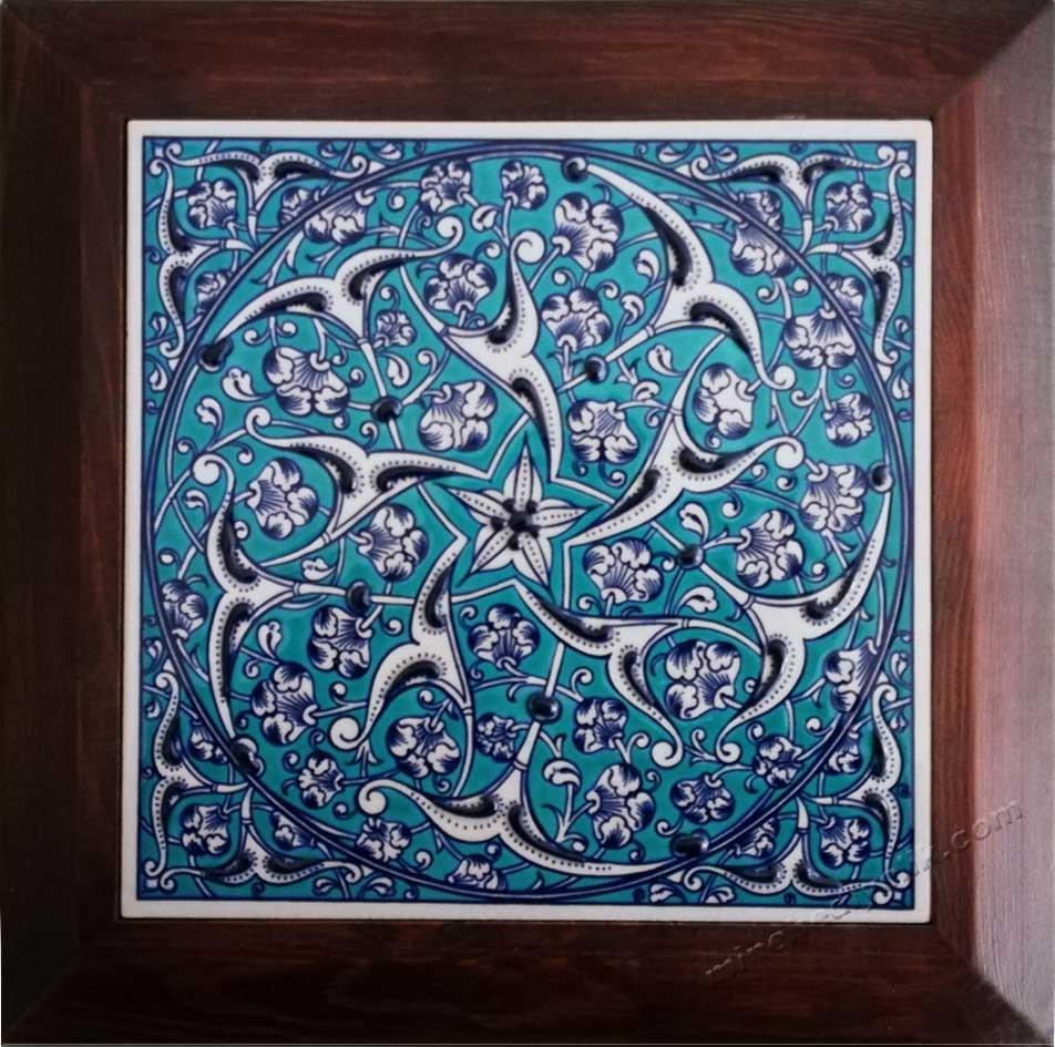 Osmanlı Mavi  Beyaz Çinileri Duvar SÜsleri Masa üstü süsleri Dekoratif Çini Panolar Yüksek Kaliteli Promosyonlar Hediyelik Dekoratif çiniler