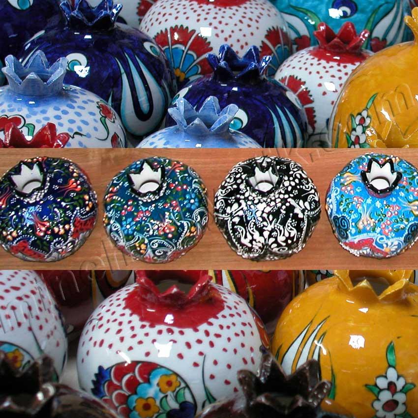 Kabartma Dantel İşlemeli Çini Nar Takımları Desenleri  Modelleri Kurumsal Promosyon Hediyelik tarihi ve kültürel Hediyelik Eşyalar geleneksel sanatsal hediyeler