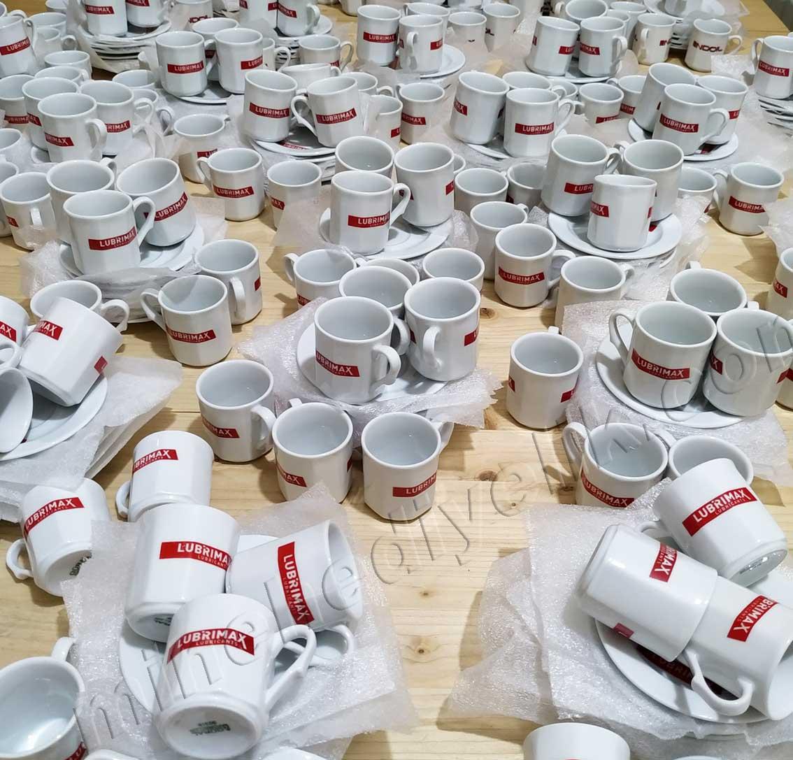 Kurumsal Promosyon Amaçlı Logolu Kahve Fincan Takımları