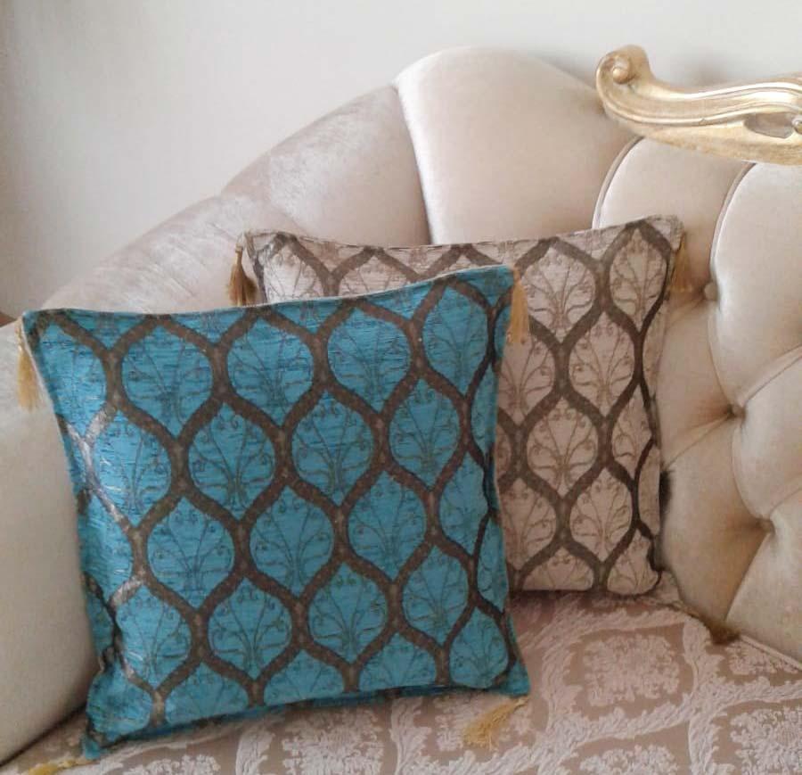 Osmanlı Desenli Yastık ve Kırlent Kılıfları Modelleri Fiyatları Resimleri