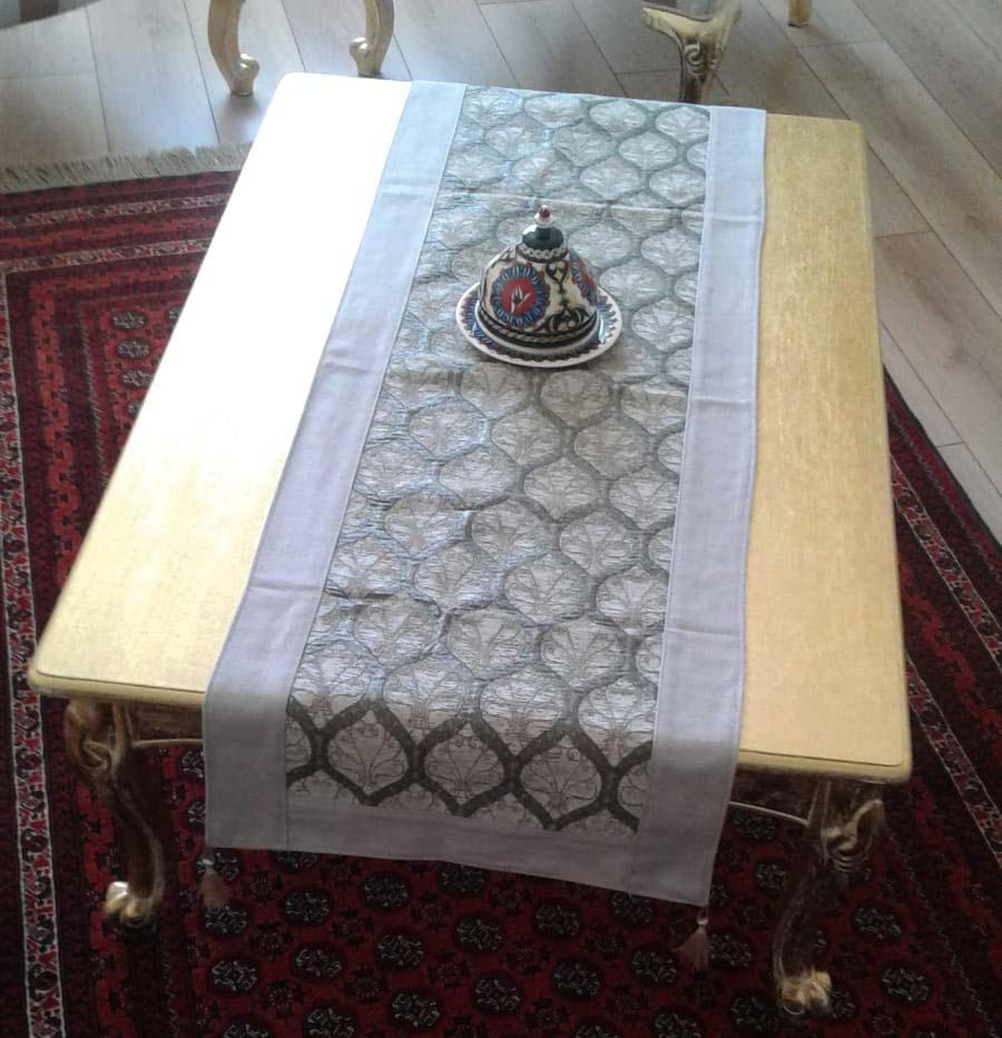 Kenarlı ve Astarlı Rannır ve Masa Örtüler